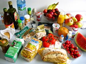 Bild von veganen Lebensmitteln