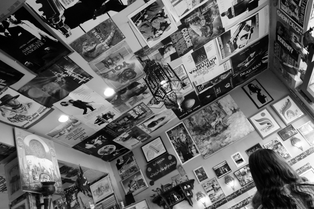 Bilder an der Wand