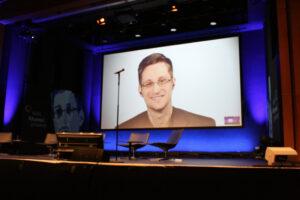 Livestream Edward Snowden