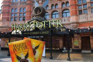 Bild vom Eingang des Hogwarts Museum