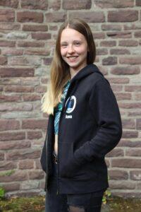 Portrait einer Studentin