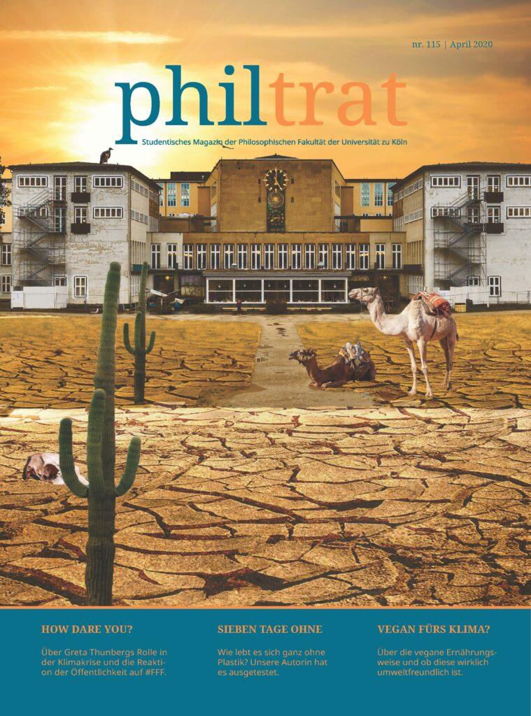 Cover des philtrat Magazins 115