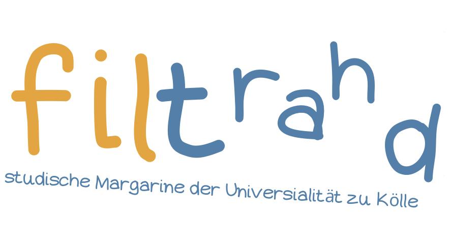 das philtrat Logo falsch geschrieben