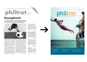 Zwei Cover der philtrat