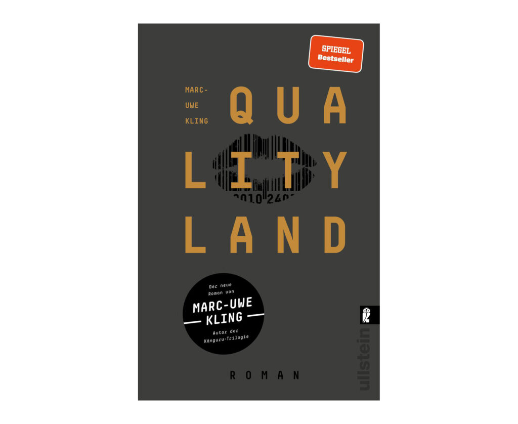 Buchcover des Buches Qualityland