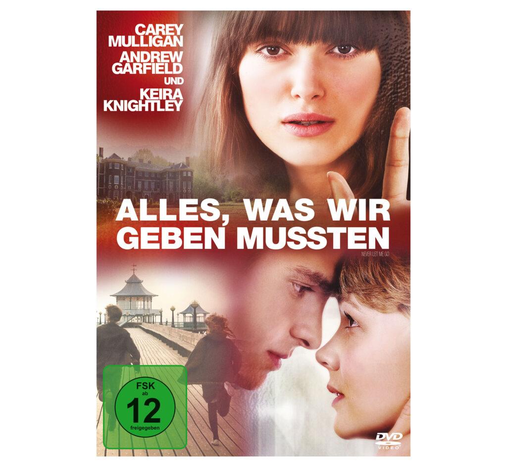 """DVD-Cover zum Film """"Alles, was wir geben mussten"""""""